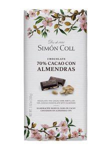 Simon Coll 70% Cacao Almonds 100