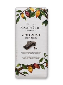 Simon Coll 70% Cacao nibs 85